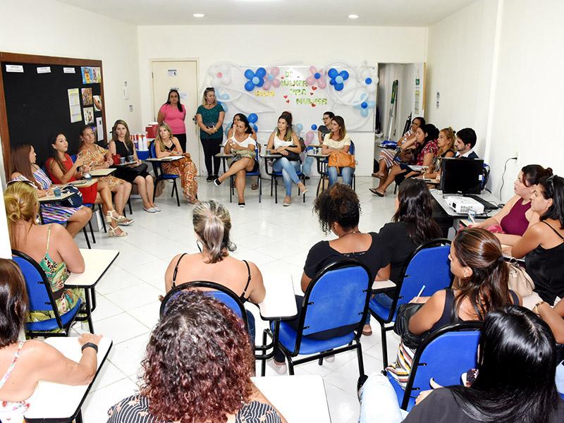 c9dfb848d5f Roda de conversa discute violência contra a mulher - Prefeitura de Angra  dos Reis