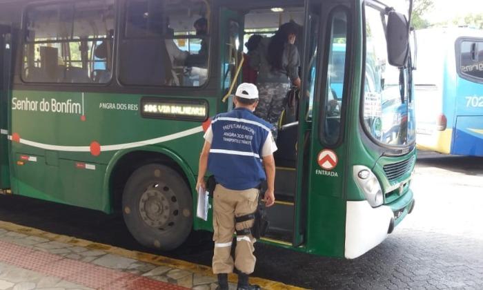 Prefeitura fiscaliza transporte coletivo
